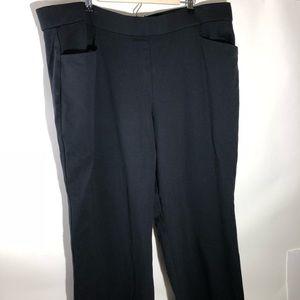 Lane Bryant Black Dress Pants Stretch Size 26/28